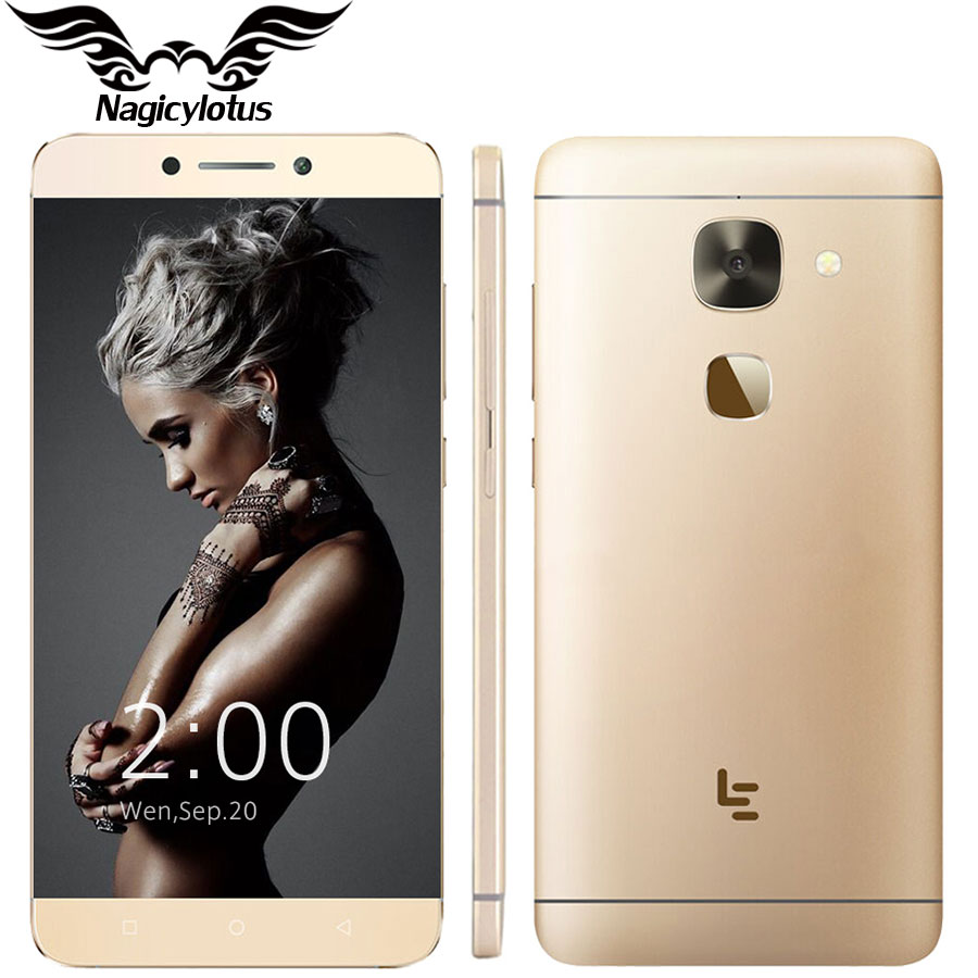 Original Letv 2 X620 LeEco Le 2 X620 Deca Core Mobile Phone MTK6797 Helio X20 5.5″ 3GB RAM 32GB ROM 1920×1080 16MP Fingerprint