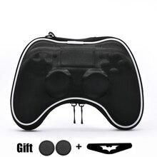 Capa dura de eva para controle de ps4, capa protetora portátil leve para controle de sony playstpap4 ps4 gamepad
