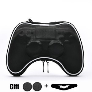 Image 1 - EVA Hard Pouch Bag for Sony PlayStation4 PS4 Controller Case Portable Lightweight Carry Case Protective Cover for PS4 Gamepad