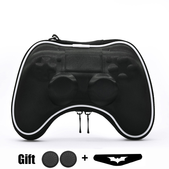 EVA Hard Pouch Bag for Sony PlayStation4 PS4 Controller Case Portable Lightweight Carry Case Protective Cover for PS4 Gamepad