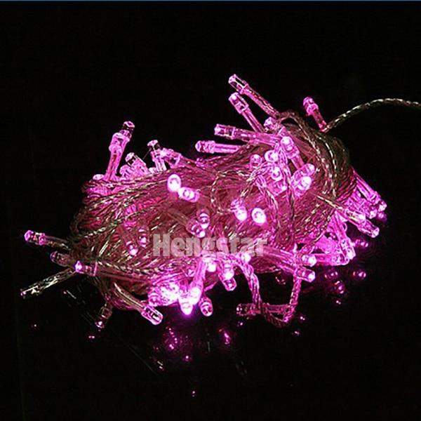220v UE wtyczka 20m 200led rgb led fairy string światła na święto - Oświetlenie wakacje - Zdjęcie 3