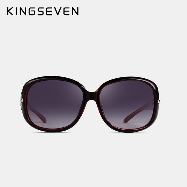 KINGSEVEN 2017 Sunglasses Women Polarized UV 400 Oversized Vintage Sunglasses Female Sun Glasses Shades