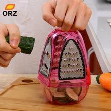 ORZ Reiben Aktenvernichter Und Schneidemaschinen Obst Gemüse Cutter Kartoffel Karotte Gerät Flache Grob Fein Band Küche Werkzeuge