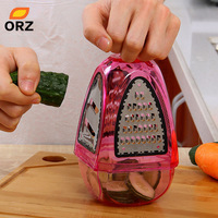 ORZ Graters Shredders And Slicers Fruit Vegetable Cutter Potato Carrot Device Flat Coarse Fine Ribbon Kitchen Tools