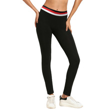 High Quality Women High Waist Sports Gym Yoga Running Fitness Leggings Pants Workout Clothes Solid High Waist Yoga Pants