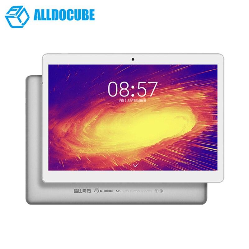 10.1 pouce 1600*2560 ALLDOCUBE M5 Comprimés 4g Téléphone Appel Tablet PC MTK X20 Deca core Android 8.0 4 gb RAM 64 gb ROM