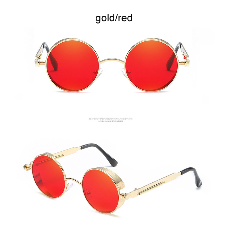 Stop118 glasses Sunglasses Round 6