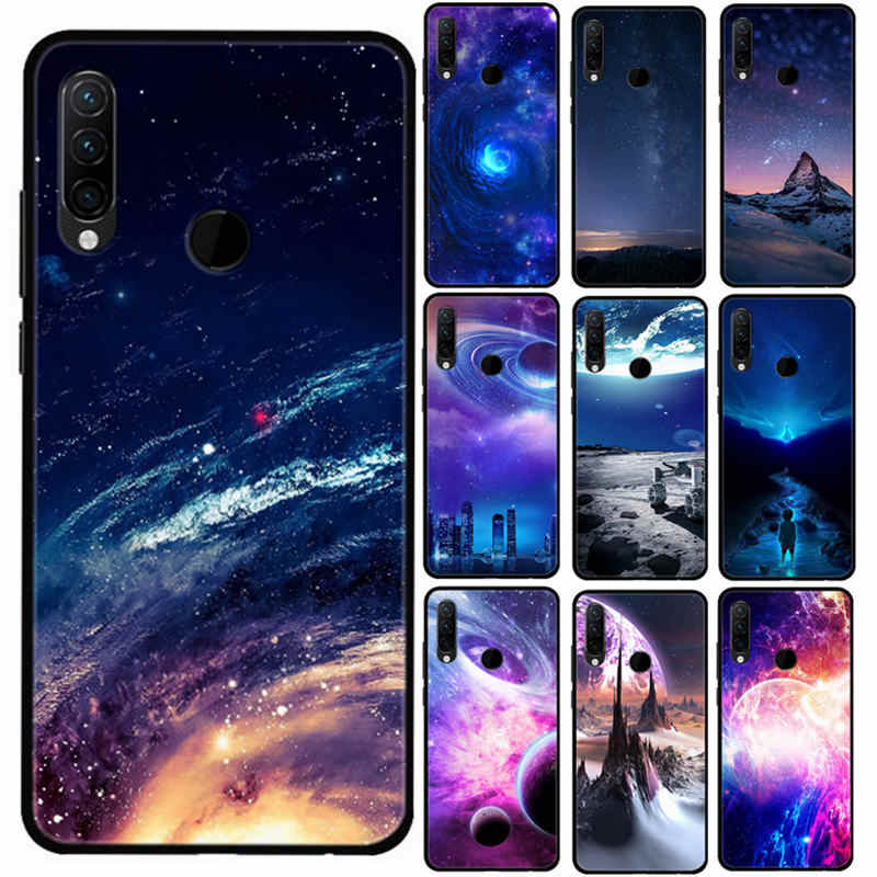 Silicone Cover For Lenovo Z6 Youth edition Phone Case Wonderful Star Space Skin Fundas For Lenovo Z6 Youth TPU Soft Back Covers