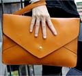 Novo 2016 famosa marca wristlet embreagem envelope das mulheres do vintage bolsa de couro bolsas saco de marca bolsas femininas couro 49