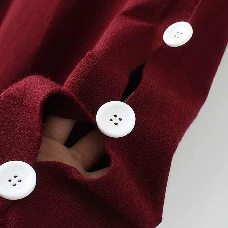 S69 осень-зима Свободные свитеры 4XL плюс Размеры женская одежда модные Свободные Вязание пуловеры CX133