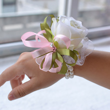 Bracelet For Corsage Bridemaids Accessoirs Wedding Flowers Flower Bridesmaids