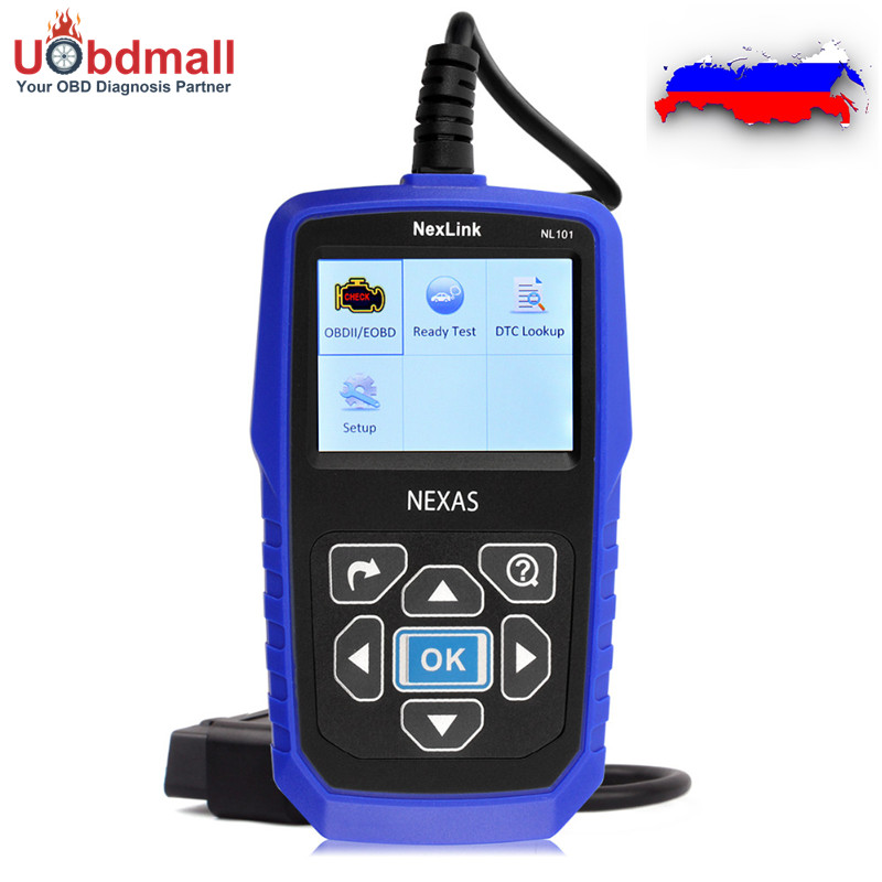 ФОТО Newest NL101 OBD2 Automotive Scanner OBD2 EOBD JOBD CAN Engine Analyzer Code Reader Better Than ELM327 Get Free Gifts