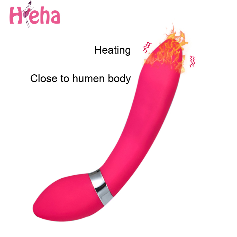 Hieha 10 Speed Mute Vibrators Massager G-Spot Vibrating Sex Toys for Woman Silicone Vibrator Waterproof Sex Products For Women baile 4 function rotations g spot vibrator 12 speed vibrating bullet sex vibrators sex products adult sex toys for women
