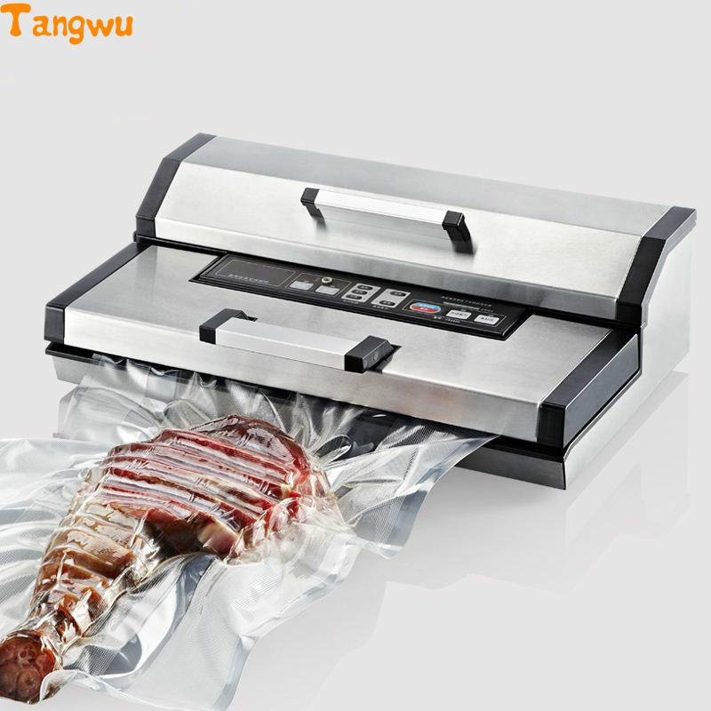 Free shipping Tea full automatic packaging machine high power commercial sealing Vacuum Food Sealers Vacuum Food Sealers