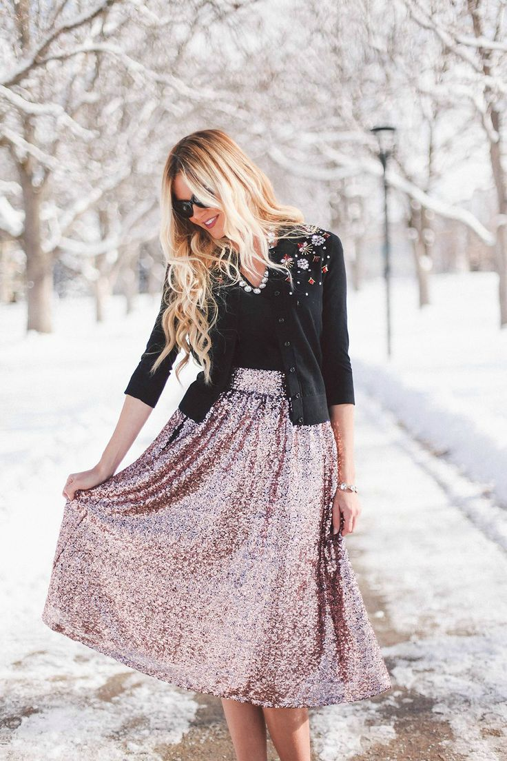 Aliexpress.com : Buy Hot Sale Street Fashion Sequin Skirt Nature ...