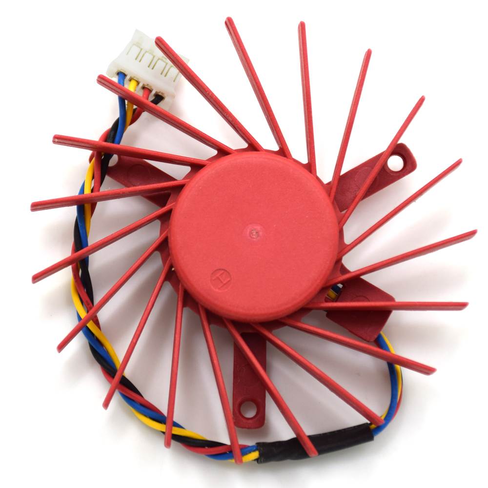 New PLD06010B12HH Video Card Fan 60mm 0.4A 2 Ball Bearing Cooling Fan Replacement For ATI Radeon HD3850 HD4850 Graphics Card Fan original delta afb0612vhc 6cm 60mm 6013 6 6 1 3cm 60 60 13mm 12v 0 36a dual ball bearing cooling fan specials