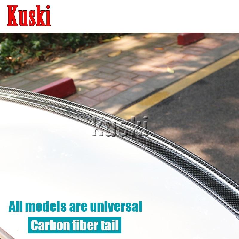 Car Carbon Fiber Rear Spoiler Wing for Lexus RX NX GS CT200H GS300 RX350 RX300 For Infiniti q50 FX35 G35 G37 Accessories все цены