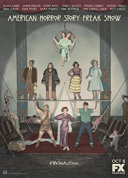 《美国恐怖故事:畸形秀 第四季》2014年美国剧情,悬疑,惊悚电视剧在线观看