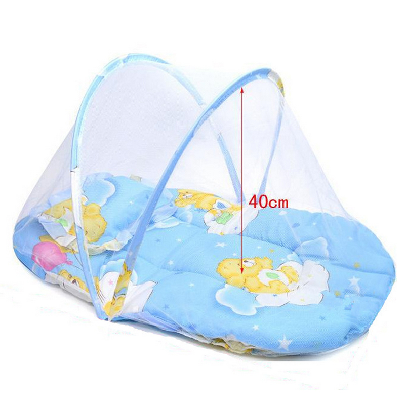 Baby Bedding Baby Bed With Mattress And Pillow Super Soft Crib Mosquito Netting Infant Folding Babies Mosquito Net Mattress Trq0232 Punctual Timing Crib Netting