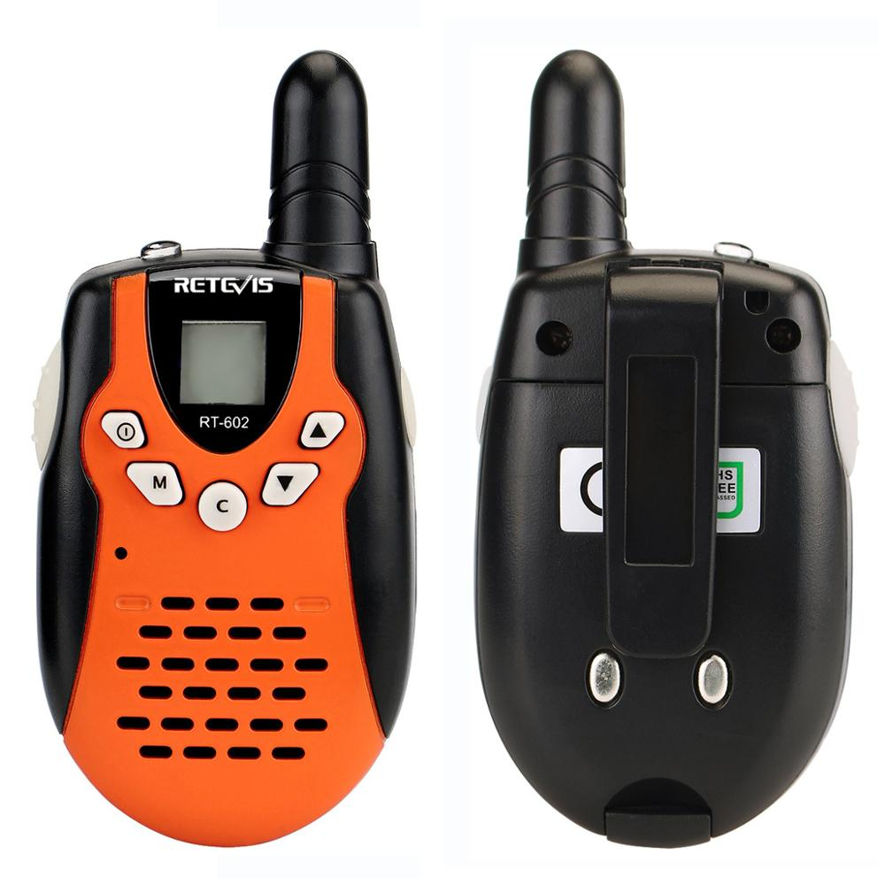 Image 3 - 2pcs Children Walkie Talkie For Kids RETEVIS RT602 0.5W PMR Radio PMR446 FRS VOX Rechargable Battery 2 Way Radio Comunicador-in Walkie Talkie from Cellphones & Telecommunications