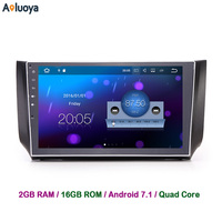 Aoluoya 2G RAM Quad Core Android 7 1 2 Din CAR DVD GPS FOR Nissan Sylphy