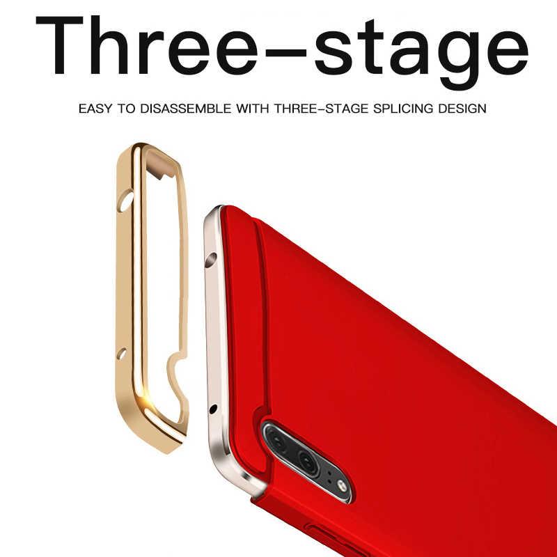 De lujo de 3 en 1 caja del teléfono para Huawei P20 Pro P10 P9 más P20 Lite funda para Honor 9 10 9i Huawei Mate 20 Pro Lite