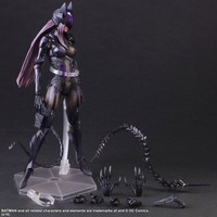 Catwoman Action Figure Playarts Kai Collection Model Anime Toy Movie Bat Man Play Arts Kai Catwoman 280mm