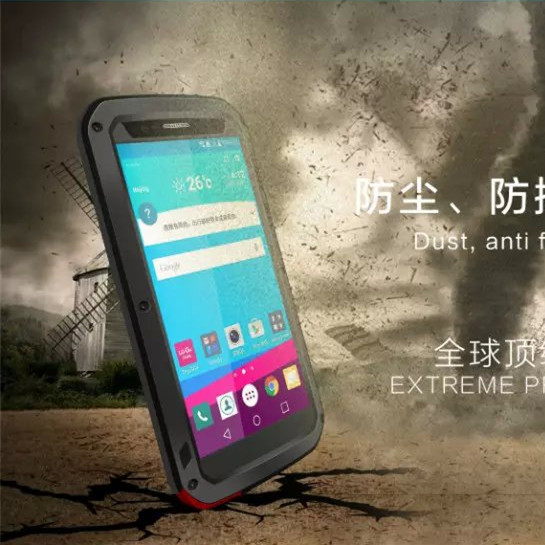 For LG G4 Aluminum Cover case For LG G4 H818 VS999 F500 Dirt Shockproof Powerful Dropproof Phone Cases