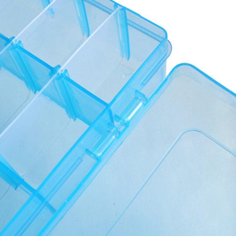 Пластик 36 Отделения Дело Box украшения из бисера контейнер для хранения Craft Организатор синий/розовый/прозрачный/оранжевый