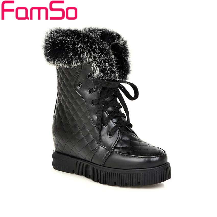 Plus Size34 43 2016 Sexy font b Women b font Boots Wedges High Heels Riding Boots