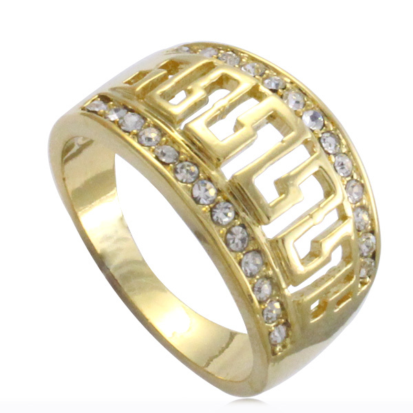Islam Muslim Allah crystal ring for men women charm Arabic