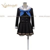 Kisstyle Fashion Sound! Euphonium Third Year High School Blue Bow Uniform Cosplay Costume