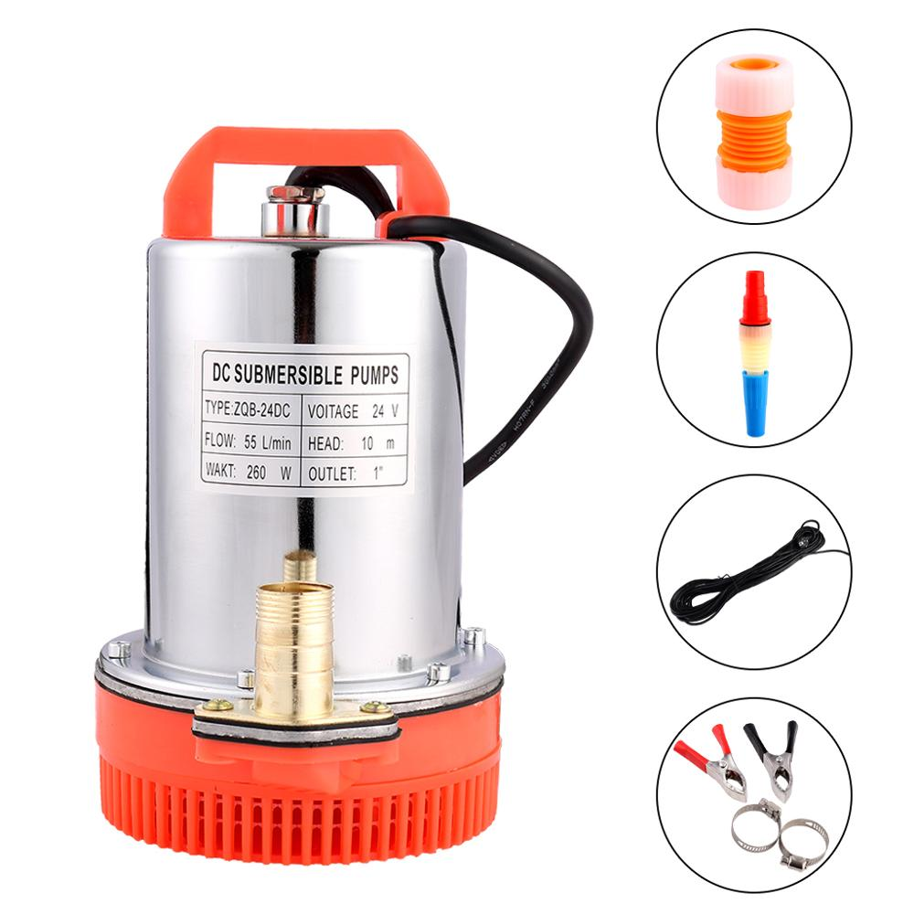 SHYLIYU 24V 12V DC Electric Small Submersible Pump 1