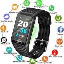 New Smart Watch Men Heart Rate Blood Pressure Monitor Fitness Tracker Bracelet Sports Pedometer Band