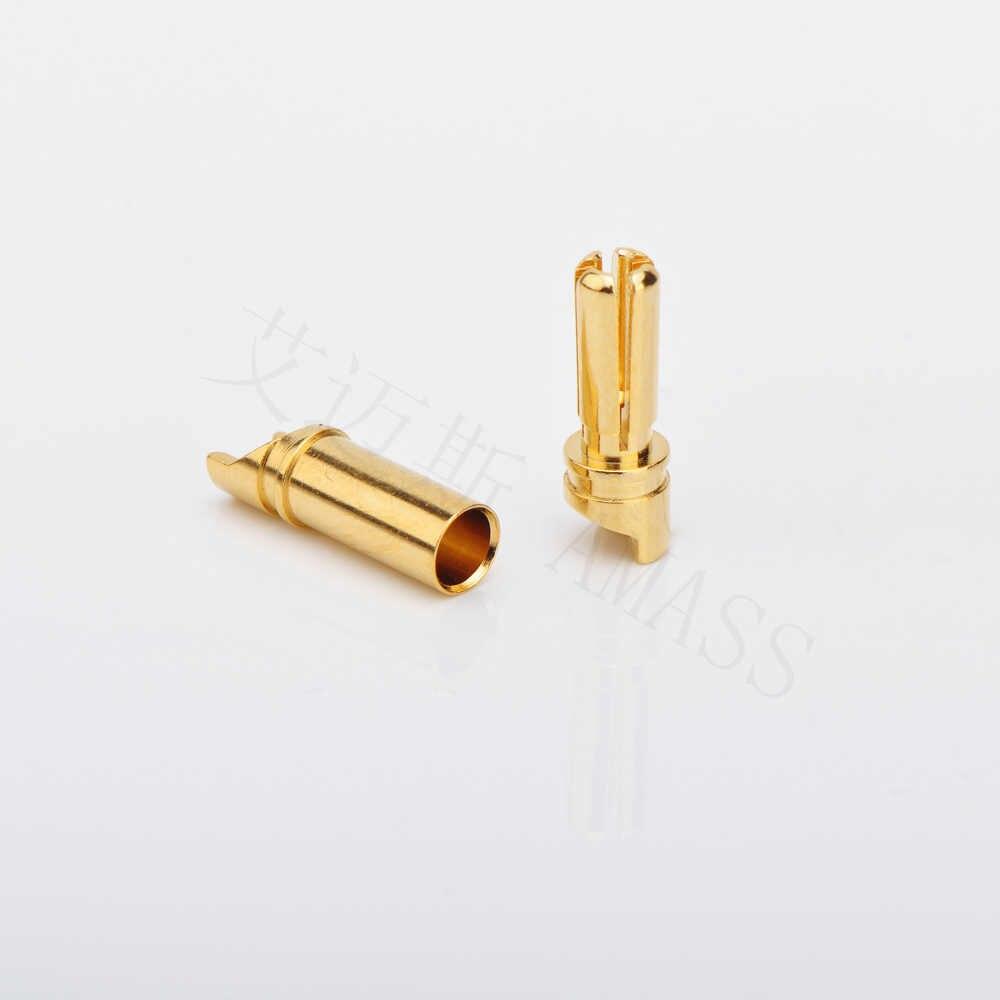 20 個蓄積 3.5 ミリメートル SH3.5 ゴールドメッキコネクタ保護スリーブ (10 ペア)