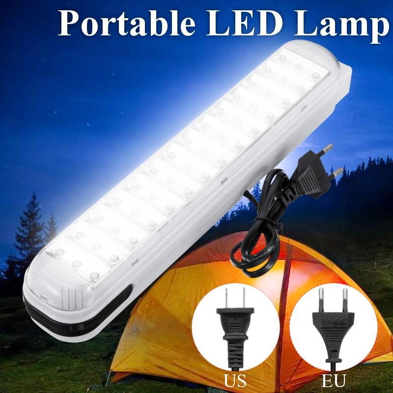 Versprechende 42 LED Notfall Tragbare Arbeit Licht Energy-saving Lampe Hängen Wand Licht US/EU Stecker
