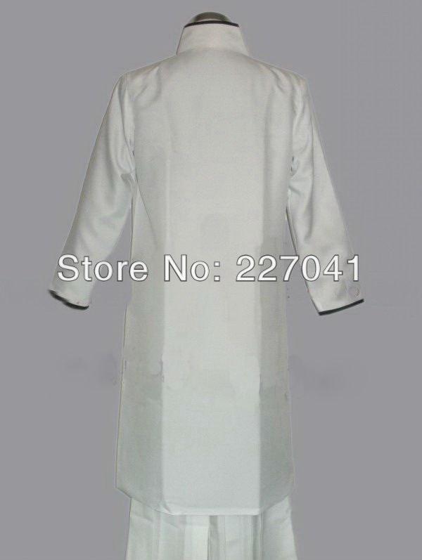 Bleach Aizen Sousuke Arrancar Cosplay Costume Halloween Clothing