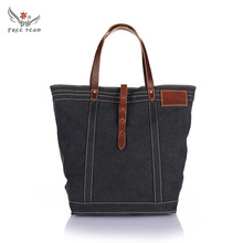 2016 Hot Sales casual shopping bags new fashion handbag Korean style vogue hipster versatile youth shoulder Canvas bag GF-110