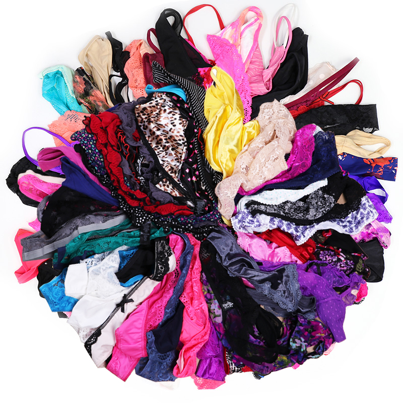 5/10 PCS/Lot Random Variety Of  Thongs And G Strings Women Panties Female Thong T Back Women Underwear Lingerie Tanga