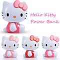 11000 mAh USB 3D Korea cute Hello Kitty cartoon moblie external portable battery charger, Bank of charging power to iphone456
