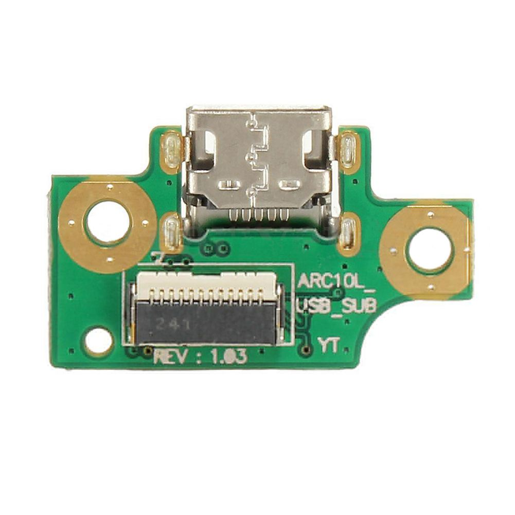 Micro-USB Charging Port Dock Flex Board Repair Part For TOSHIBA EXCITE AT10-A new high quality replacement projector lamp dt00893 cpa52lamps with housing for hitachi ed a10 ed a101 ed a111 happy bate