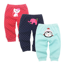 Baby Pants Newborn Babies Boys Infant Girls Pants Roupa Bebe 3 Pack 3 6 9 12 18 24 Months Trousers Kids Clothing все цены