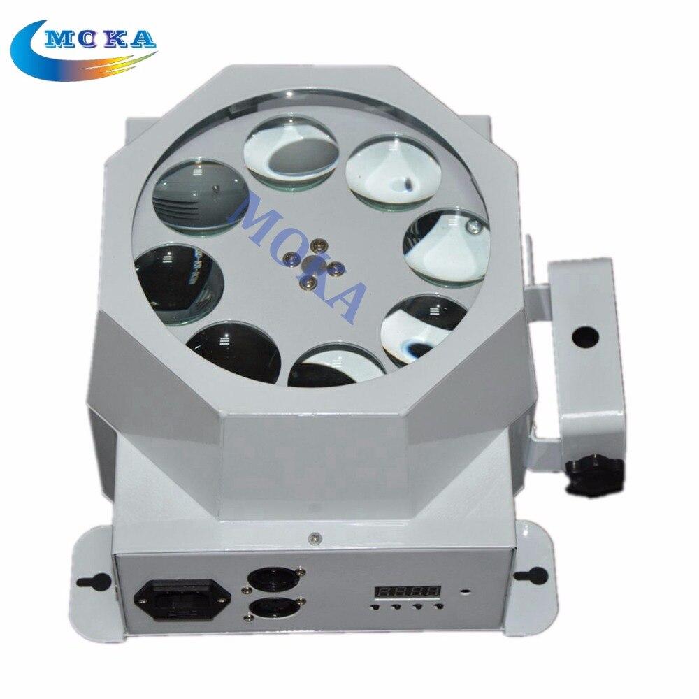 MOKA 8 Eye Led Stage Lighting 7 channels for Nightclub,Party,Bar 110v-220v Bar Wash Stage DJ Lighting