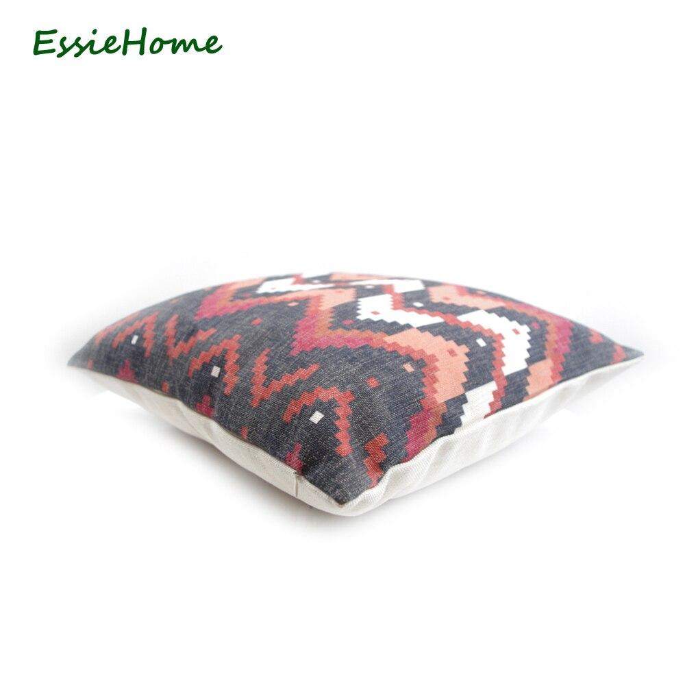 ESSIE HOME Imprimé numérique haut de gamme Noir Turc Ethnique Kilim - Textiles de maison - Photo 2