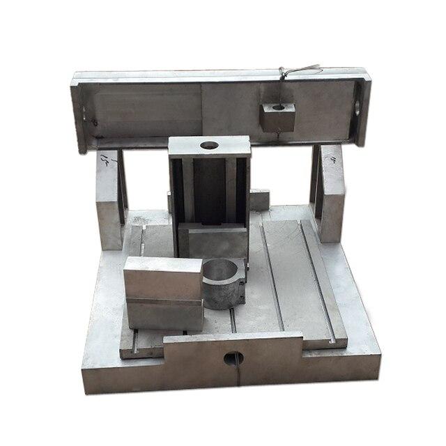 CNC Milling Machine Frame 4040 2.2KW Spindle fixture 80mm CJ1018