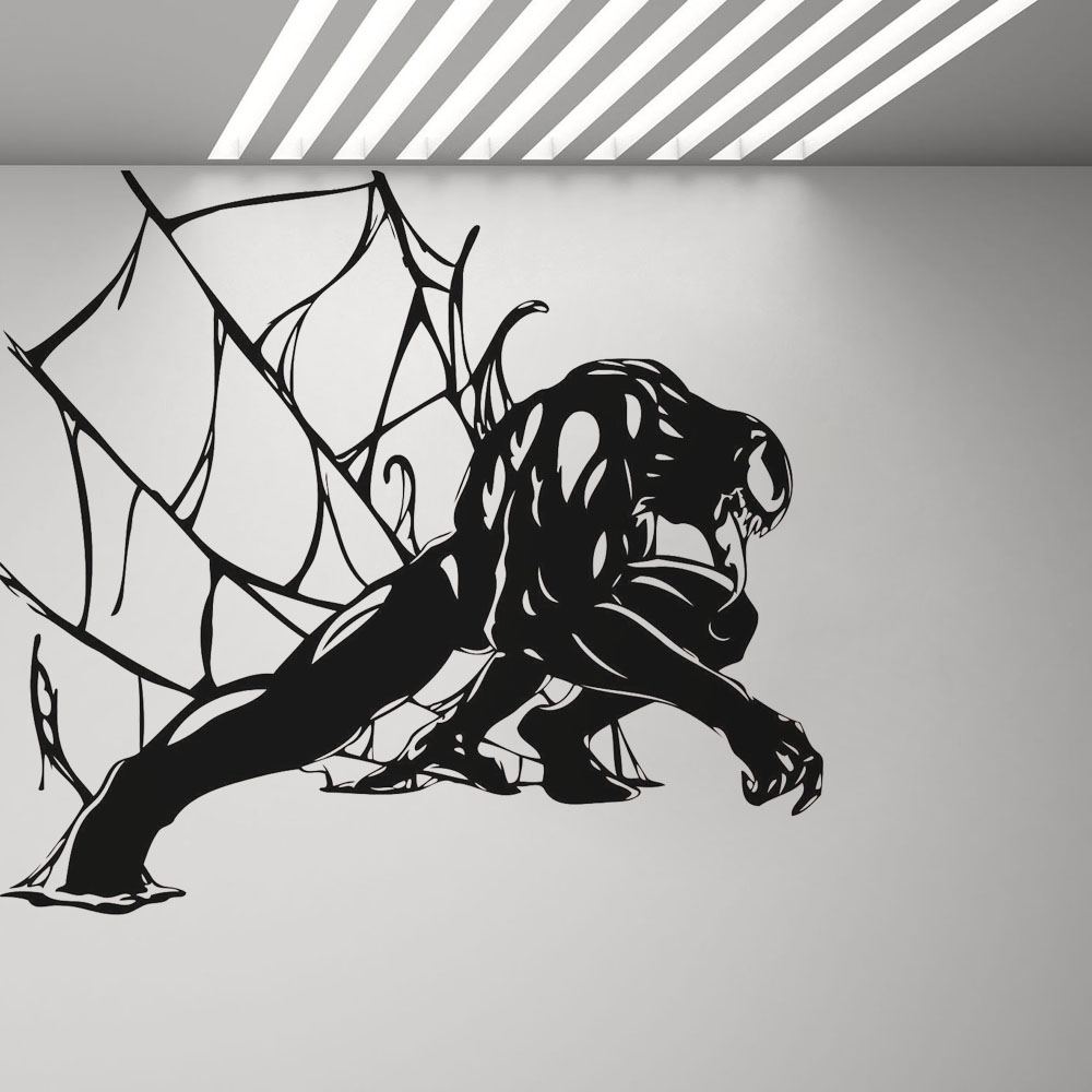 Venom Sticker Spiderman Vinyl Wall Decal Bedroom Home