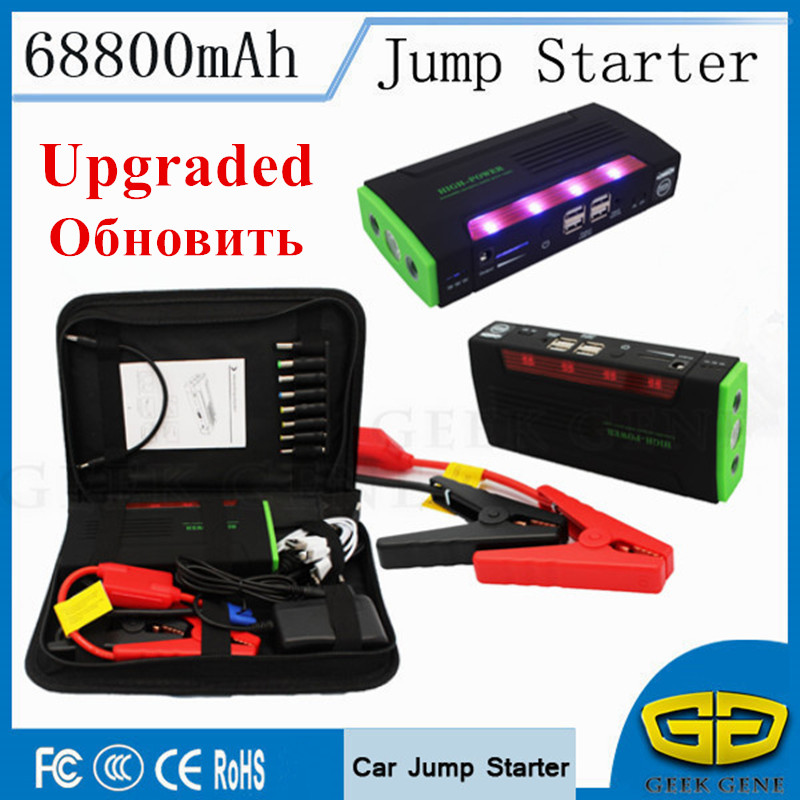 Emergency Starting Device 600A 12V Car Jump Starter Power Bank Portable 68000mAh Car Starter For Battery Booster Charger Buster