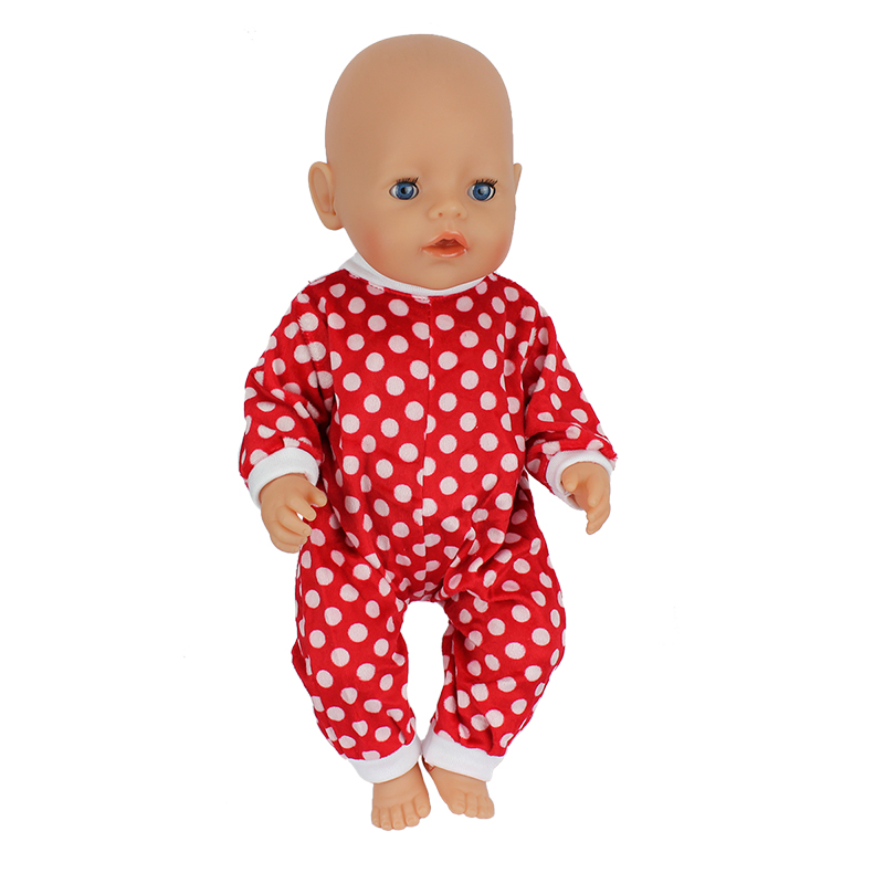 Doll-Jump-Suits-Fit-For-43cm-Baby-Born-Zapf-Doll-Reborn-Baby-Clothes-3