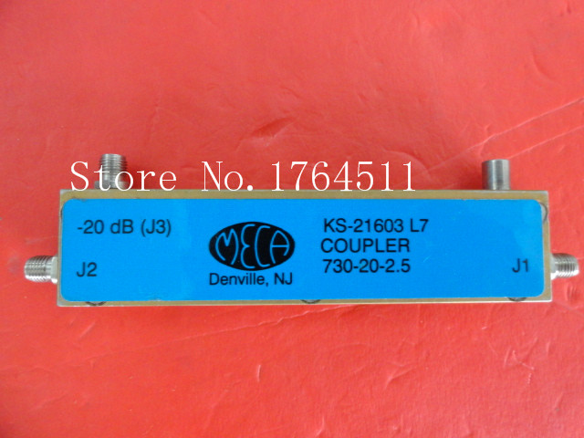 [BELLA] MECA KS-21603L7 750-950MHz Coup:20dB SMA supply coupler[BELLA] MECA KS-21603L7 750-950MHz Coup:20dB SMA supply coupler