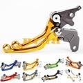 CNC Dirt Bike Тормозные Сцепления Для Suzuki РМЗ 450 РМЗ 250 мотокросс Off Road Pivot Гонке Мотоцикл ЧПУ Тормозные Рычаги Сцепления Золотой